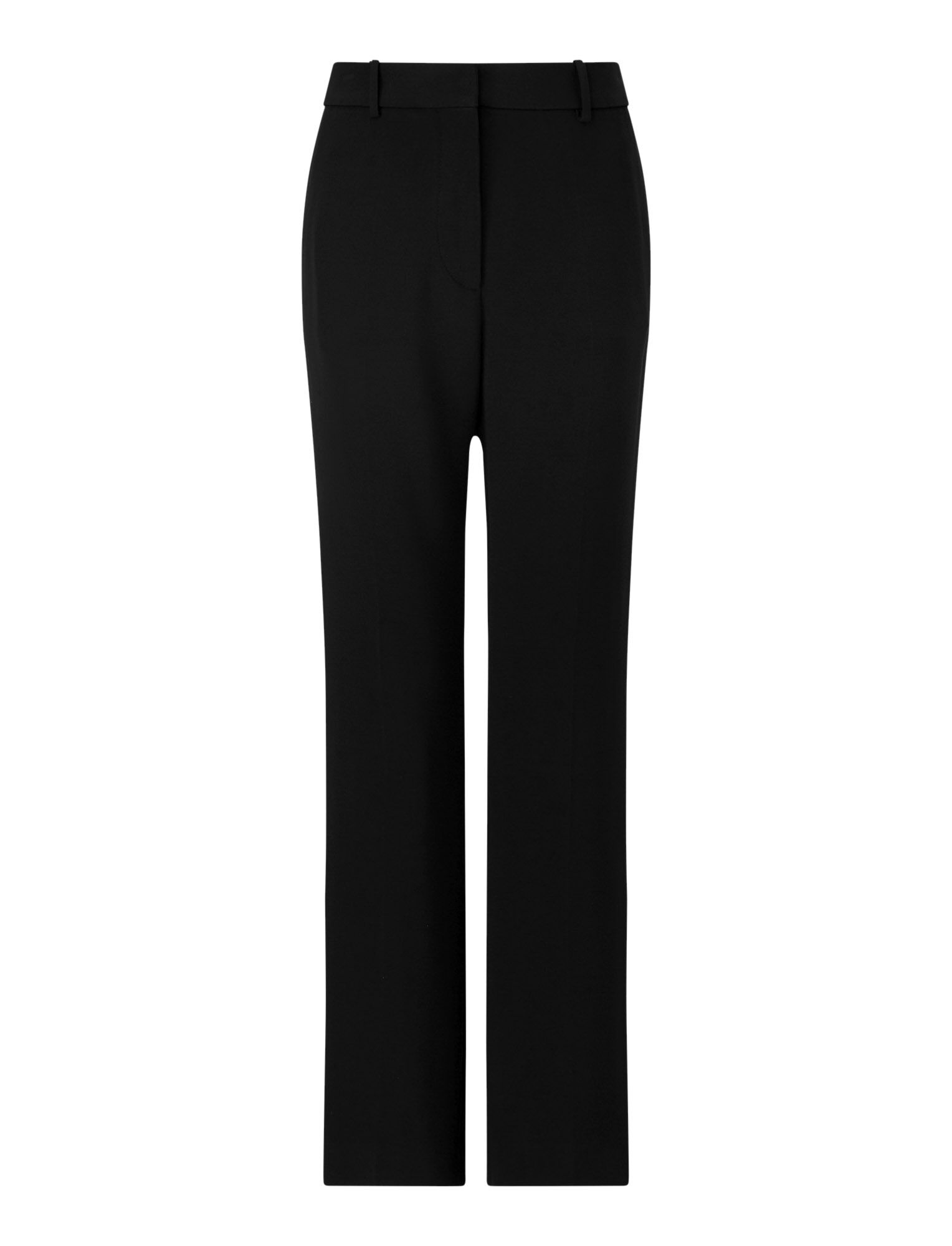 Joseph, Coleman Stretch Cady Trousers, in BLACK