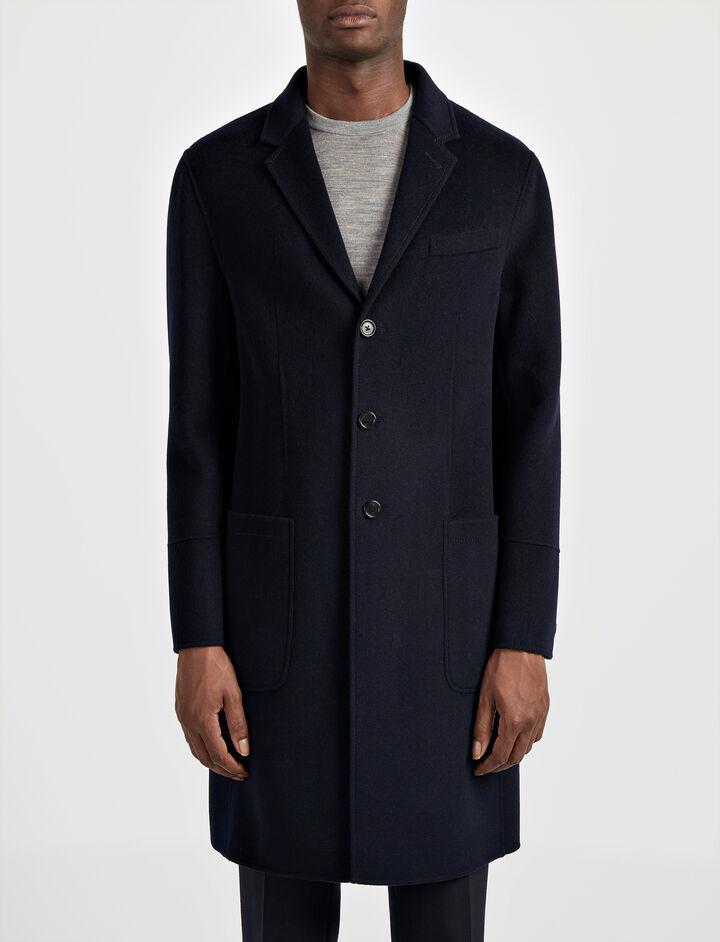 Joseph, Double Wool Bentley Coat, in INK