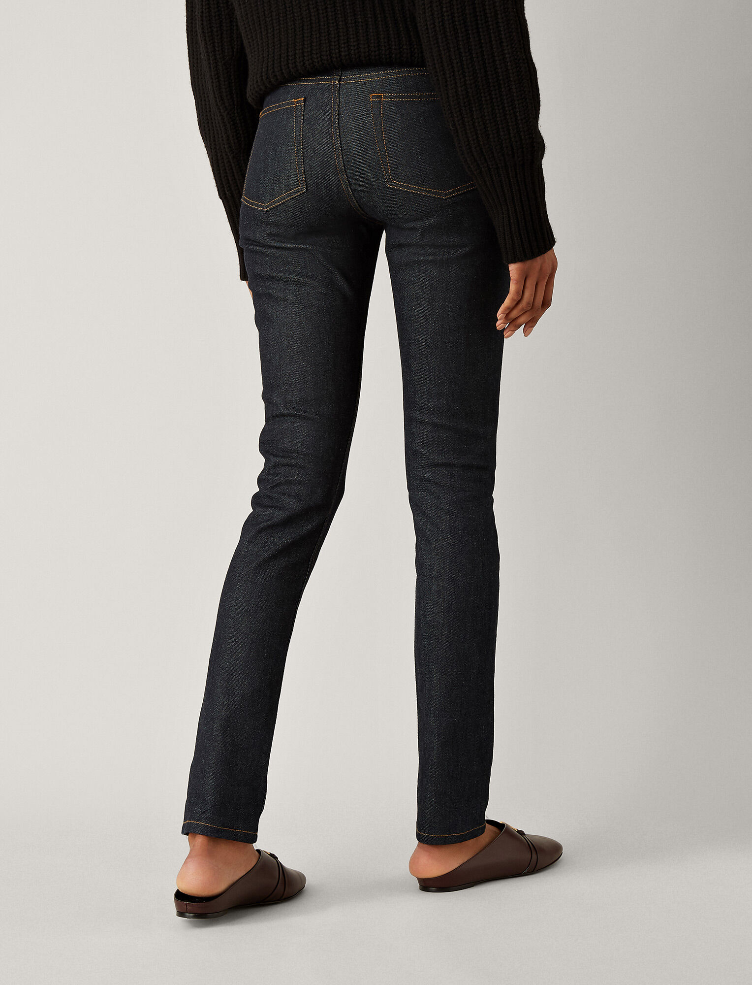 Joseph, Cloud Denim Stretch Trousers, in PURE INDIGO
