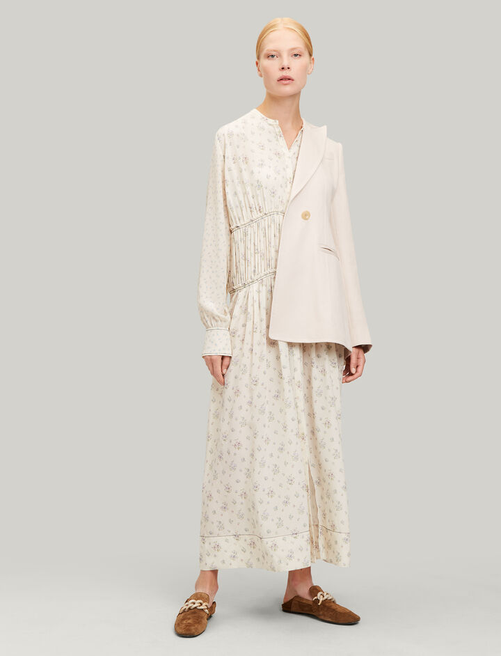 Joseph, Tala Woolf Patchwork Dress, in MULTICOLOUR