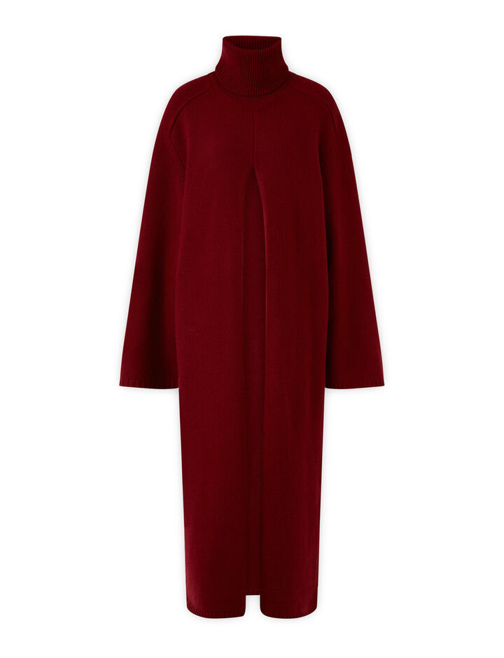 Joseph, Viviane O'Size Knit Dresses, in Plum