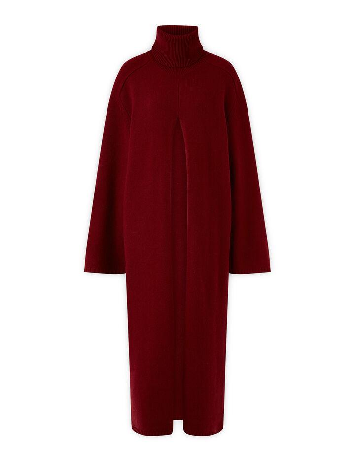 Joseph, Viviane O'Size Knit Dresses, in Plum