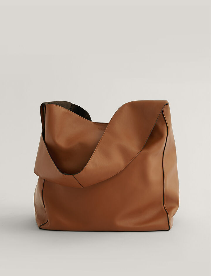 Joseph, Slouch Xl Shoulder Bag, in Rust