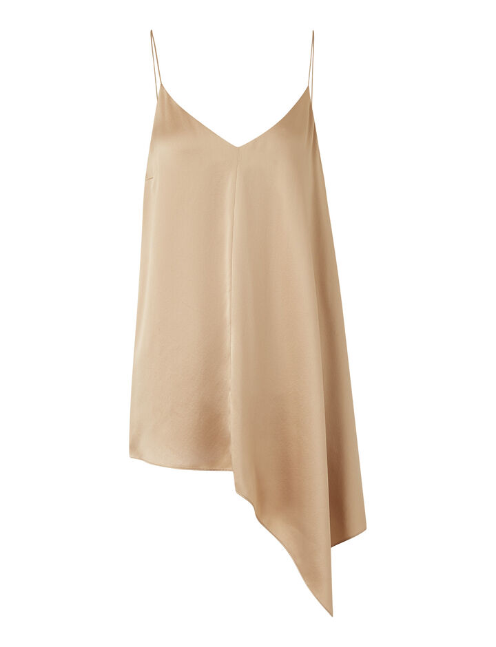 Joseph, Biddy Texture Satin Blouses, in Blush