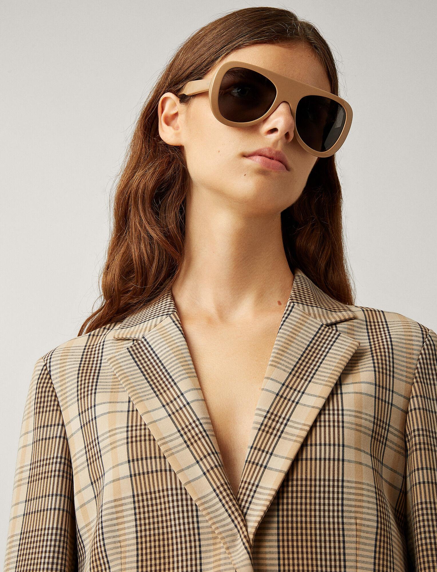 Joseph, Chelsea Sunglasses, in CAMEL