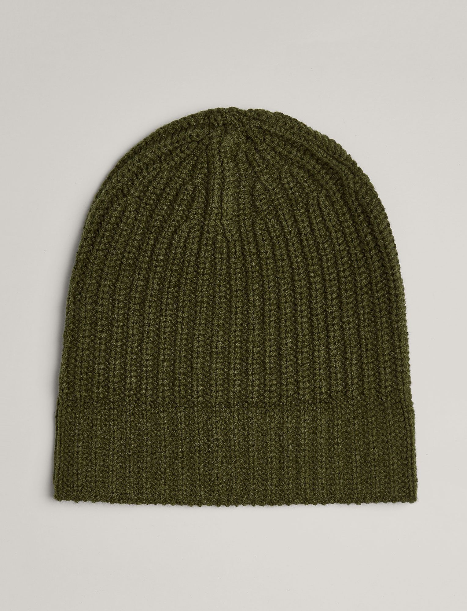Soft Wool Beanie in Green  1b2846daca4