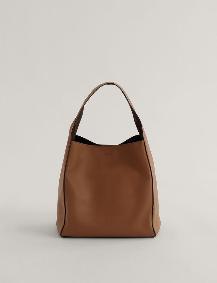 Joseph, Slouch S Shoulder Bag, in Rust