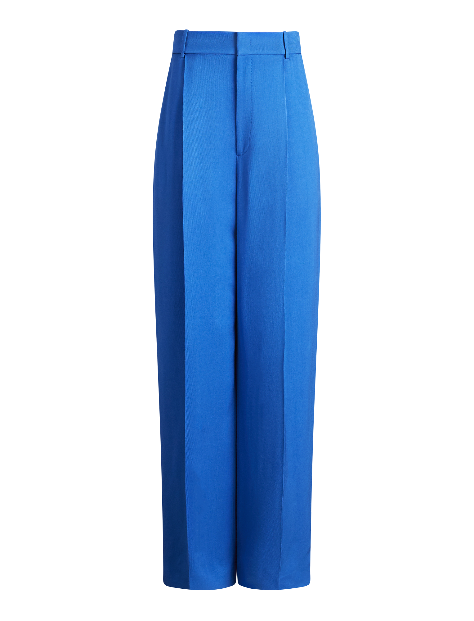 Joseph, Quarius Liquid Twill Trousers, in PLASTIC BLUE