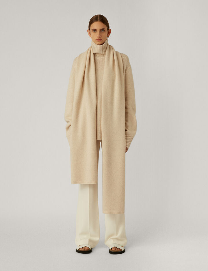 Joseph, Scarf-Luxe Cashmere, in IVORY