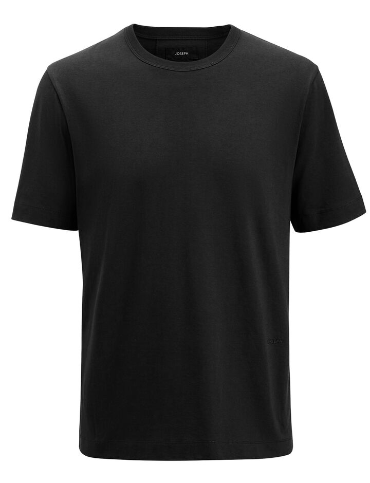 Joseph, Perfect Jersey Tee, in BLACK