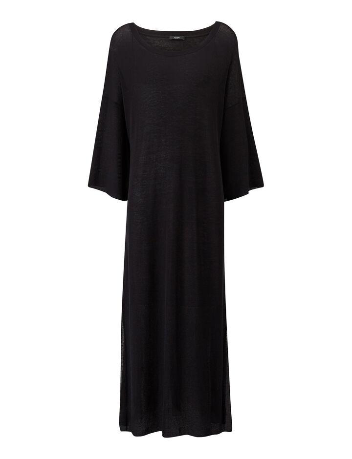 Joseph, Darline-Sheer Cotton, in BLACK