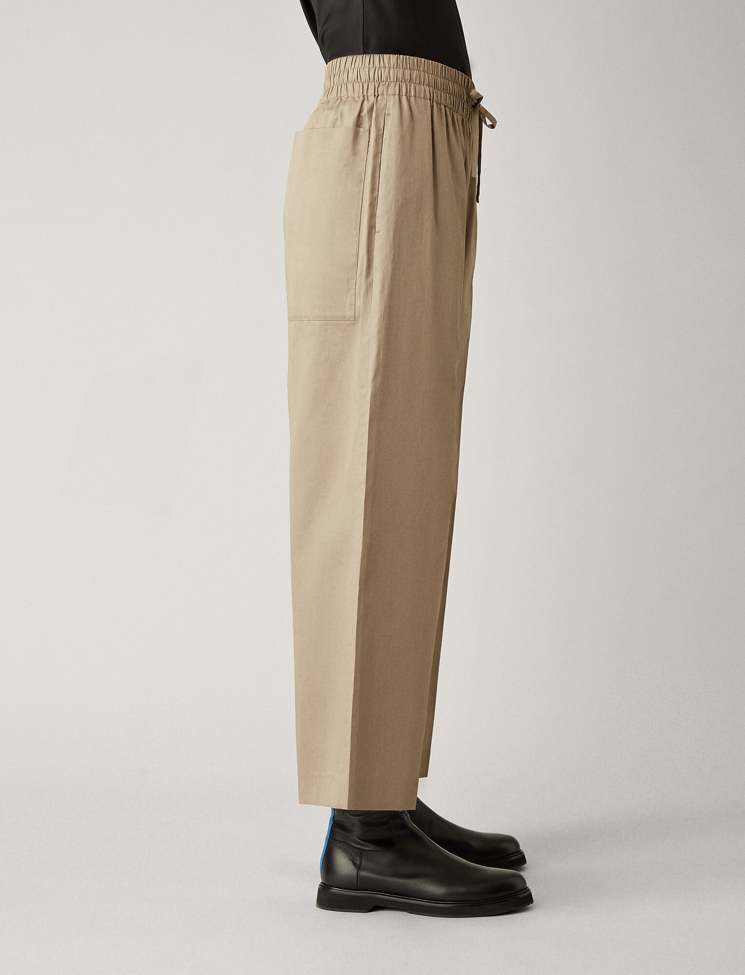 Joseph, Dahlman Refined Cotton Trousers, in QUARTZ