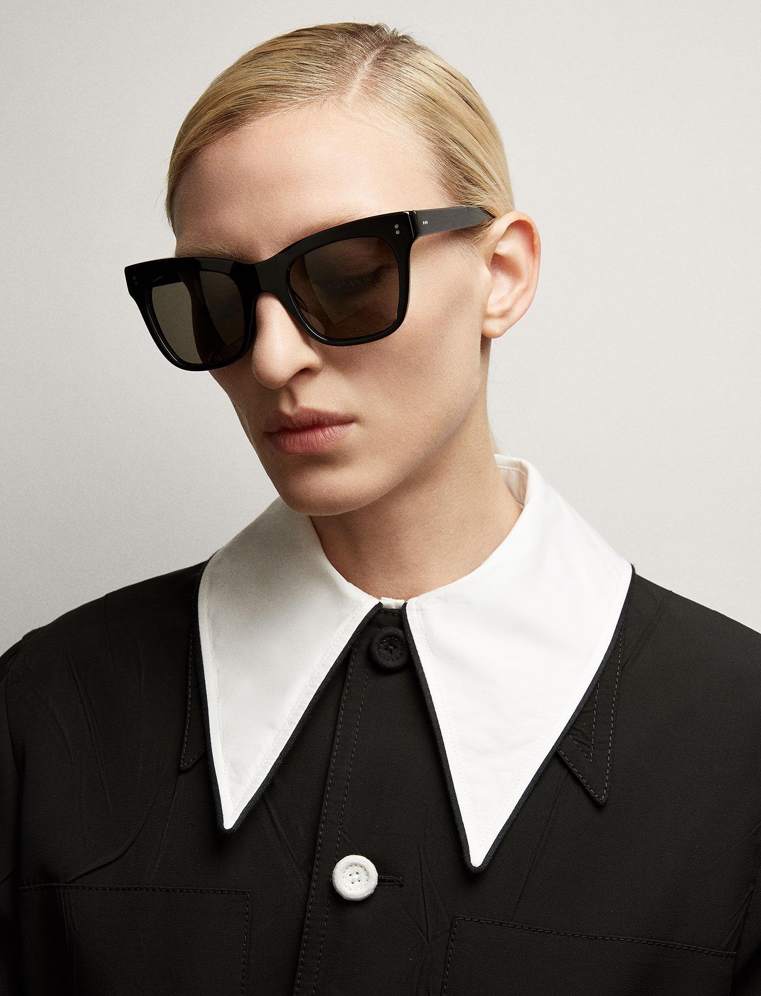 Joseph, Draycott Sunglasses, in BLACK