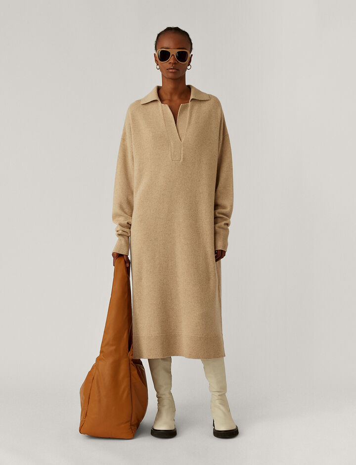 Joseph, Polo Dress Knitwear, in Linen