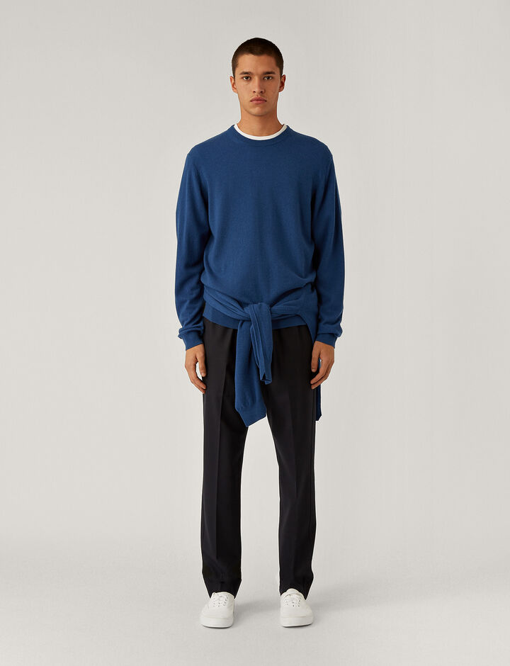 Joseph, Cashmere Knit Knitwear, in Blue
