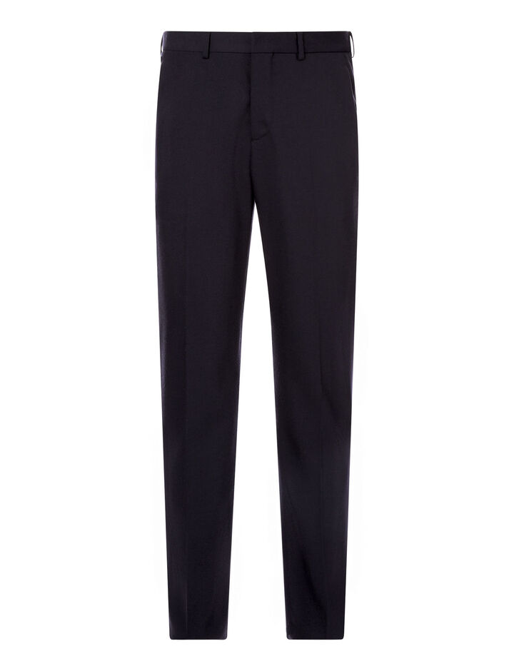 Joseph, Jack Flannel Stretch Trousers, in NAVY