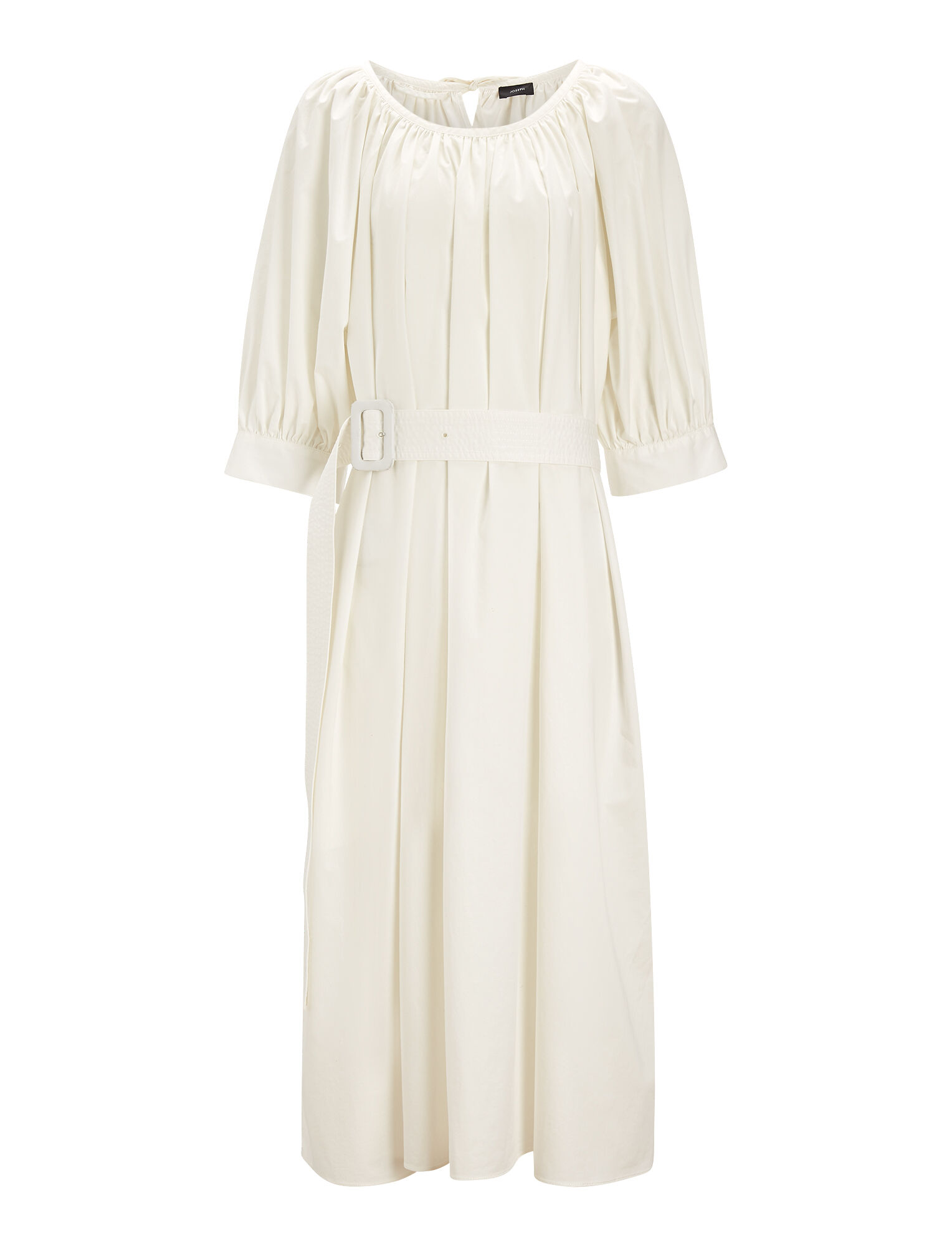 Joseph, Shan Cotton Dress, in OFF WHITE