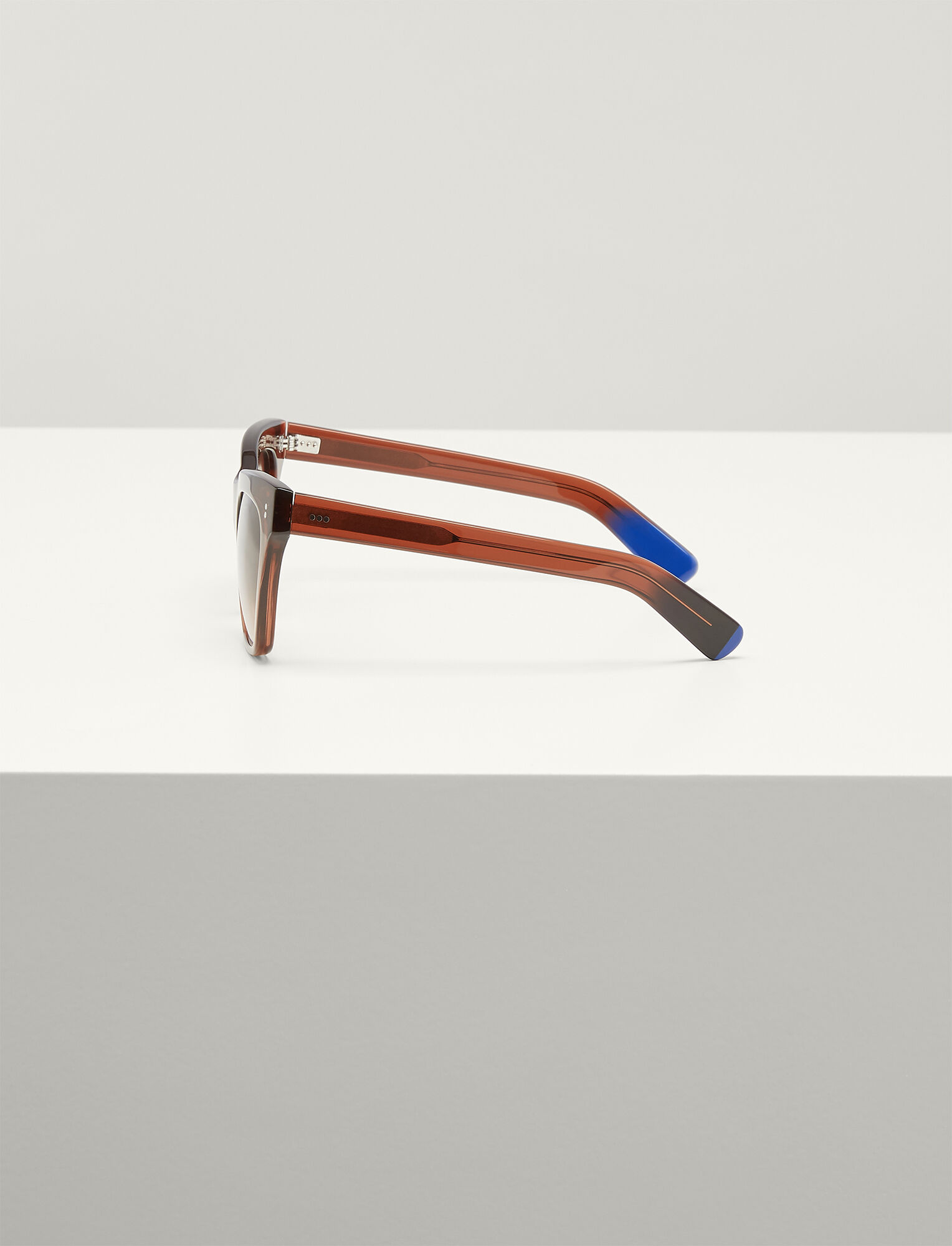 Joseph, Draycott Sunglasses, in TRANSPARENT BROWN