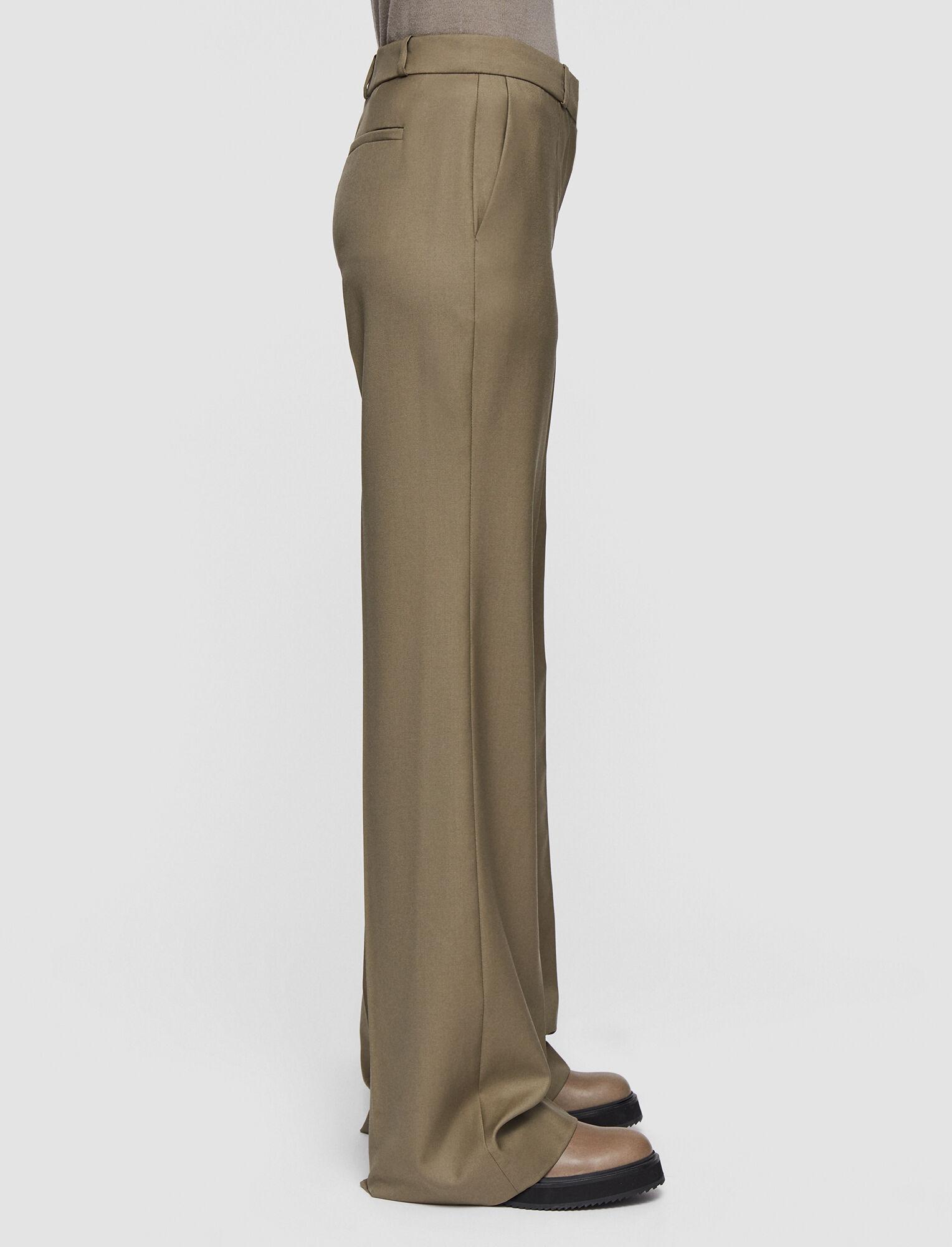 Joseph, Tailoring Wool Morissey Trousers, in ELM