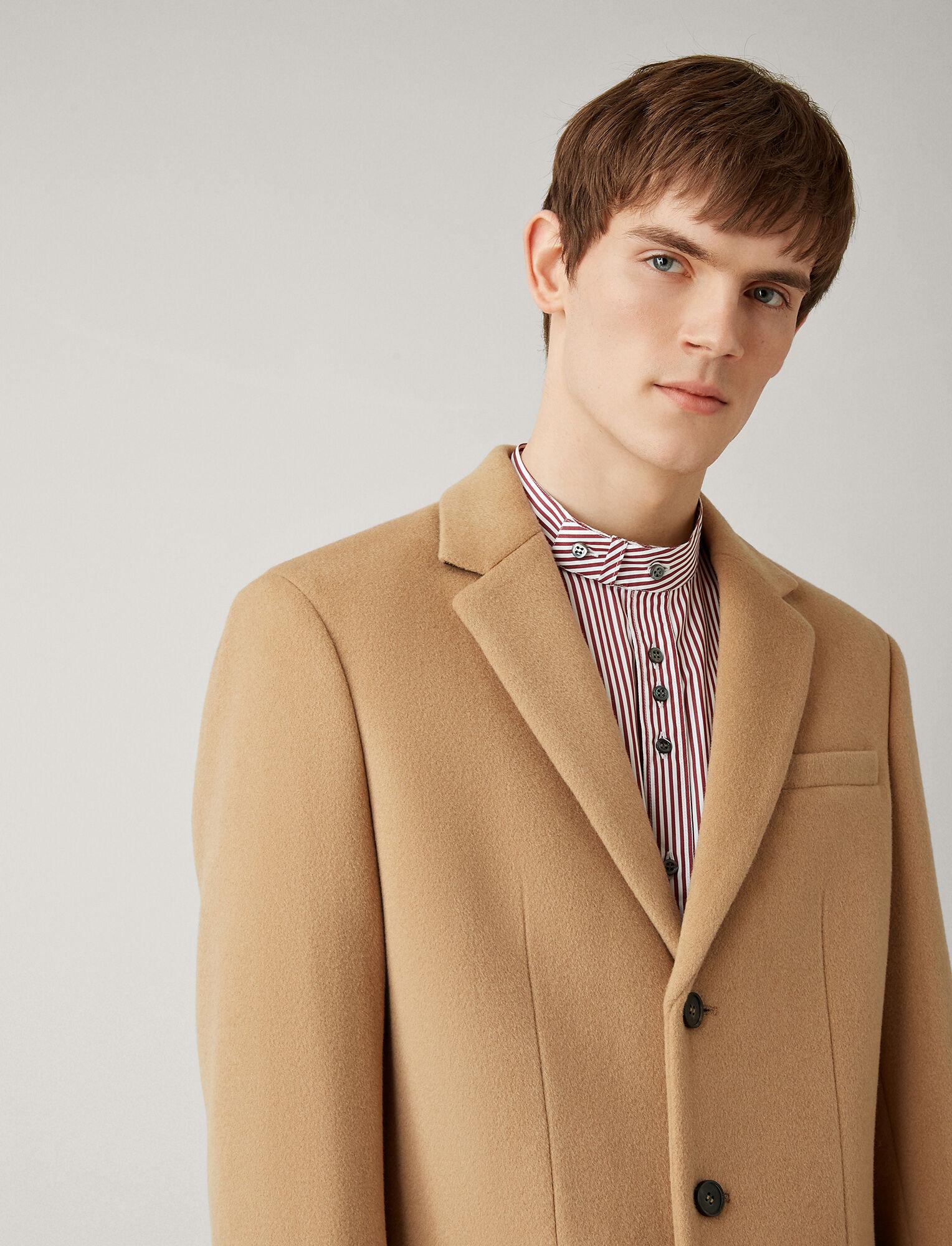 Joseph, London Wool Coat, in CAMEL