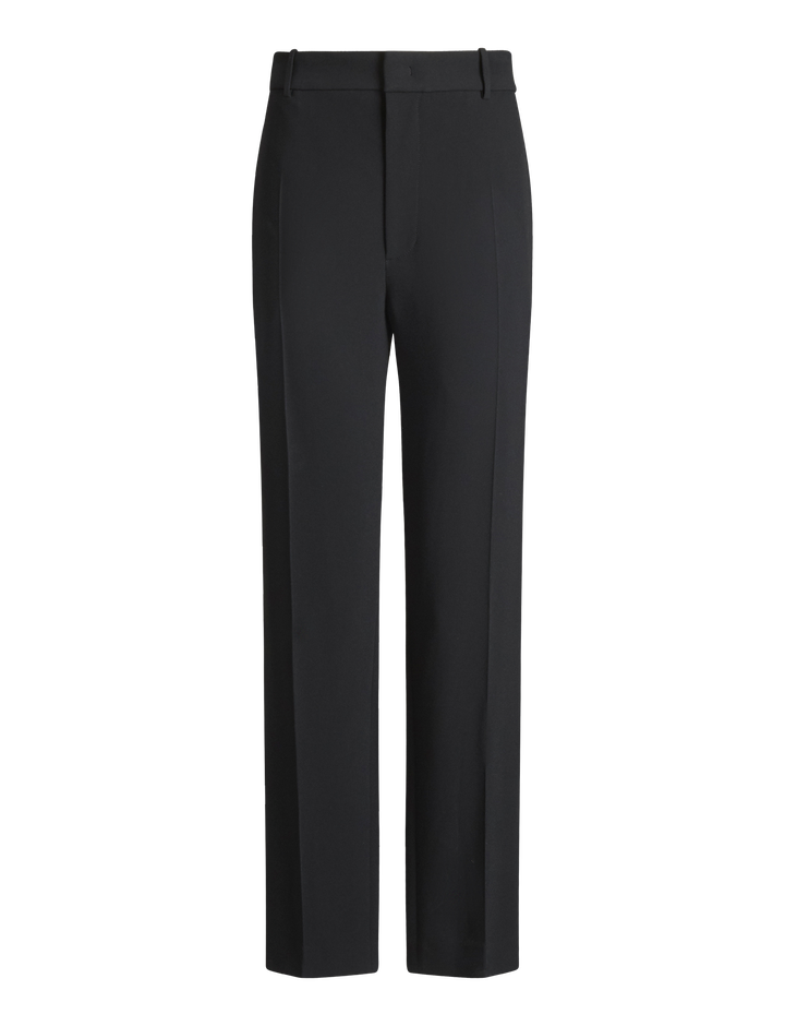 Joseph, Coman Stretch Acetate Viscose Trousers, in BLACK