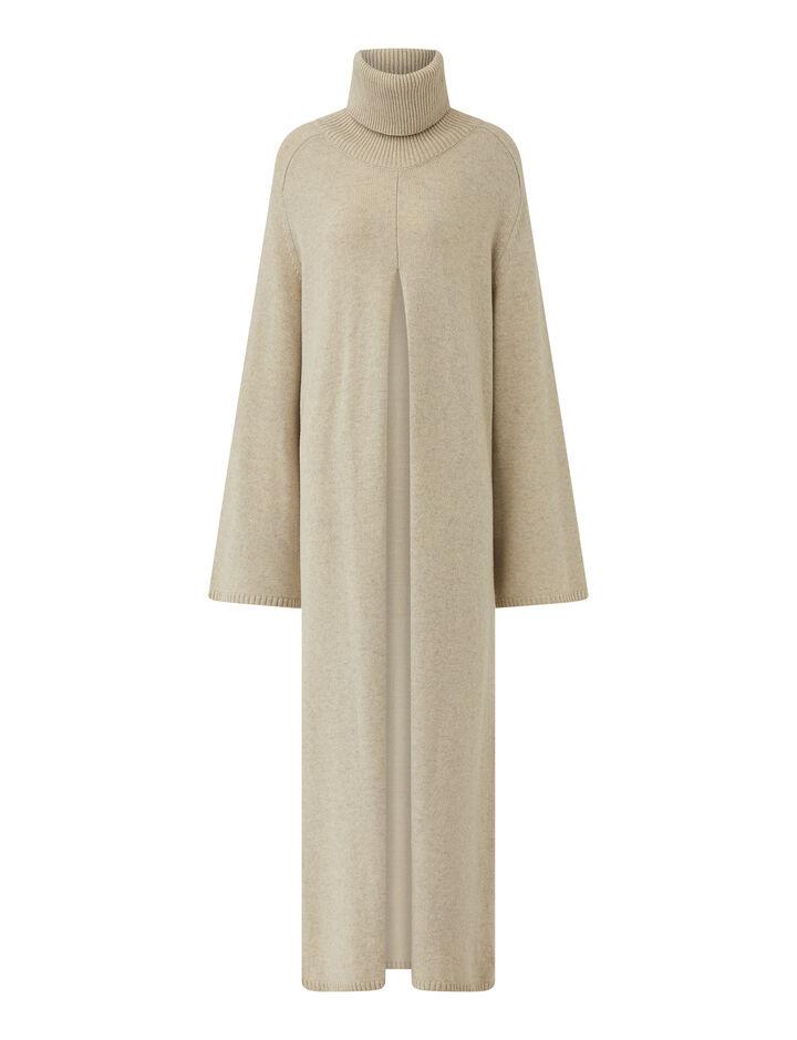 Joseph, Oversize Knit Viviane Dress, in PAPYRUS