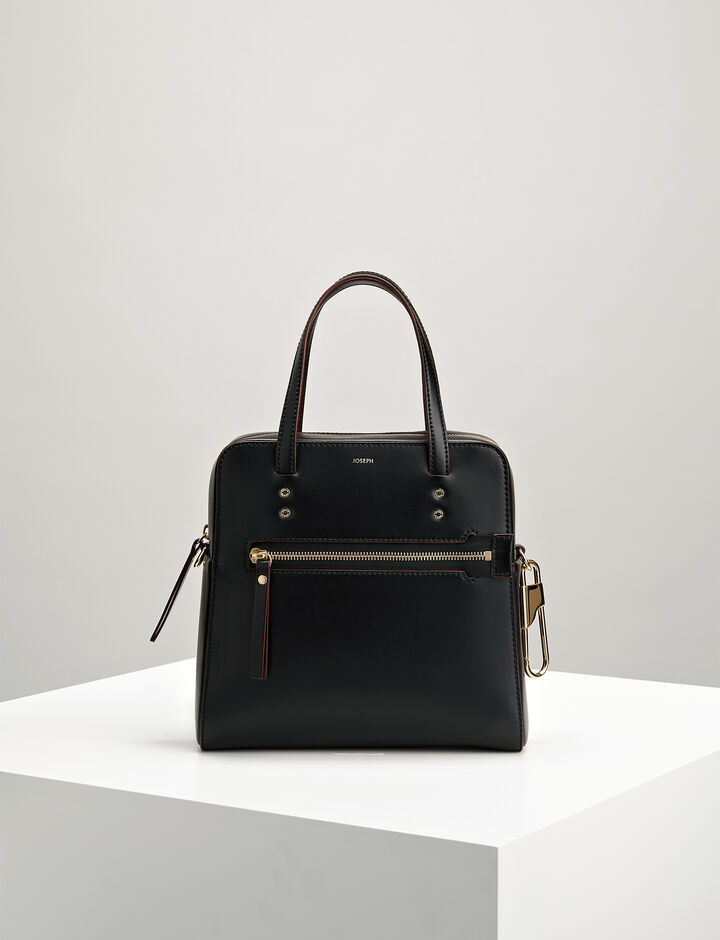 Joseph, Sac en cuir Ryder 25, in BLACK