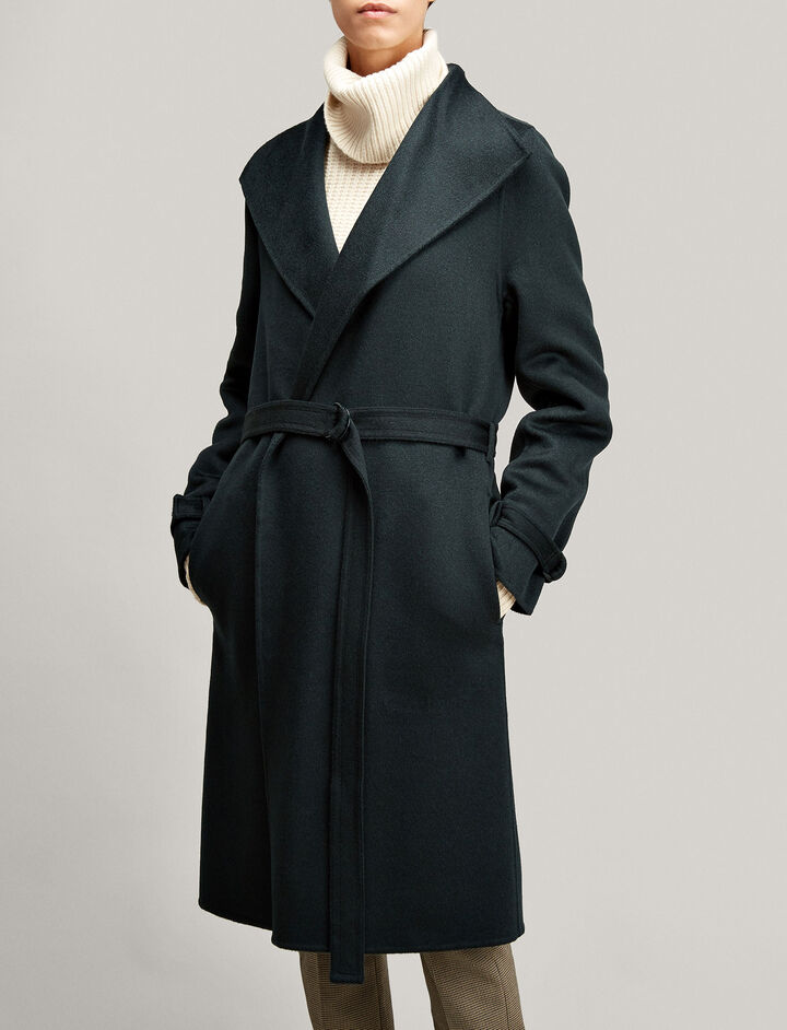 Joseph, New Lima Double Cashmere Coat, in BERMUDA