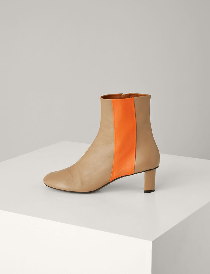 Joseph, Avenue Leather Boot, in TAN