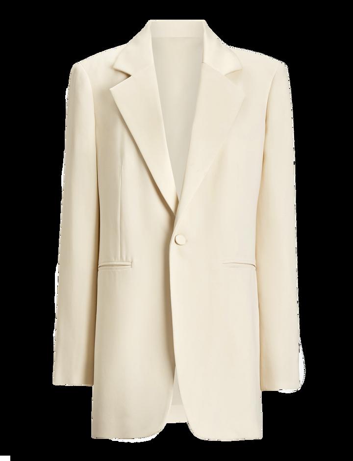 Joseph, Stearn Fluid Tuxedo Jacket, in SAND