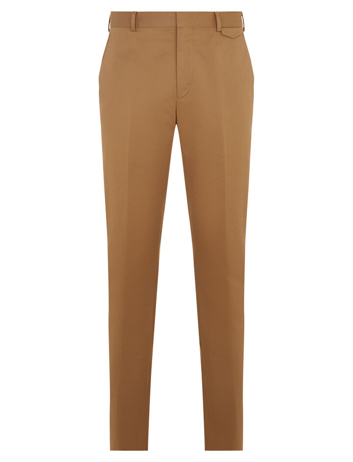 Joseph, Emmanuel Twill Chino Trousers, in CAMEL