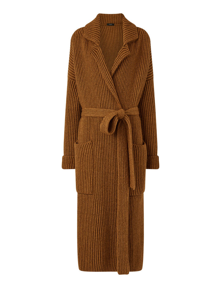 Joseph, Coat Knitwear, in Camel