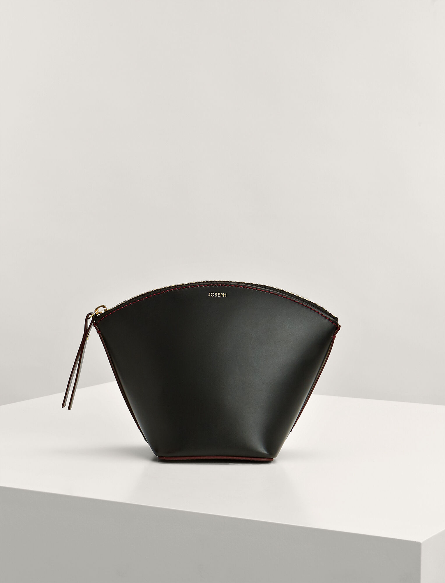 Bag Calf Clutch Leather In Taco BlackJoseph JlFKT1c