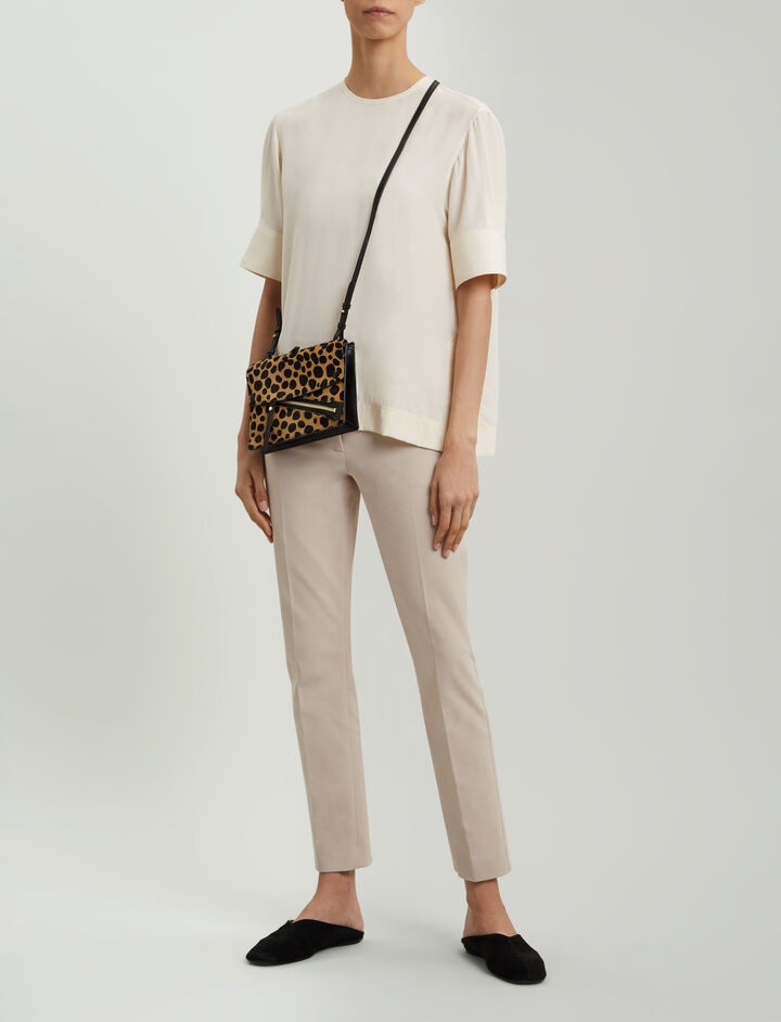 Joseph, Zoom Gabardine Stretch Trousers, in BLUSH