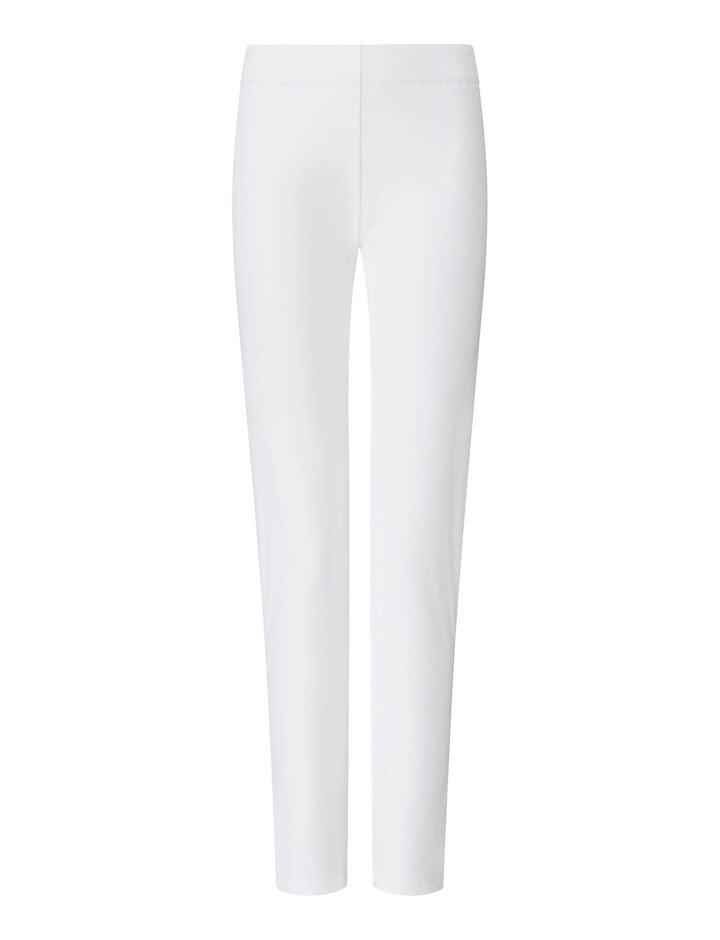 Joseph, Legging en gabardine stretch, in WHITE