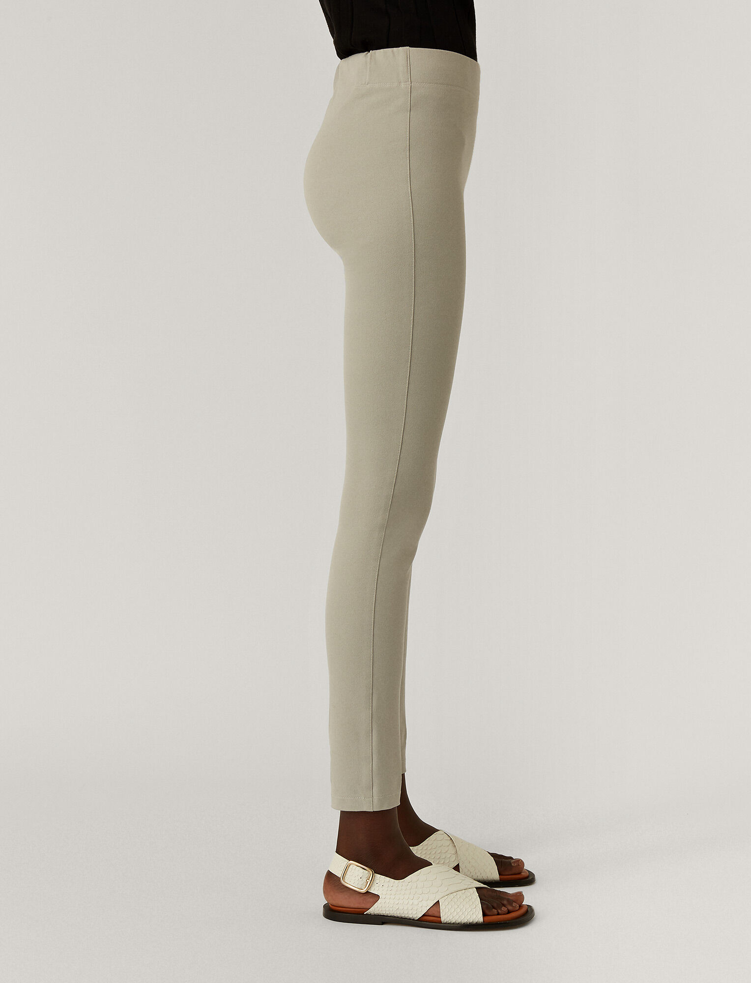 Joseph, Gabardine Stretch Leggings, in CLOUD