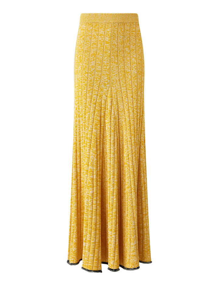 Joseph, Sally-Cotton Viscose Rib, in YELLOW