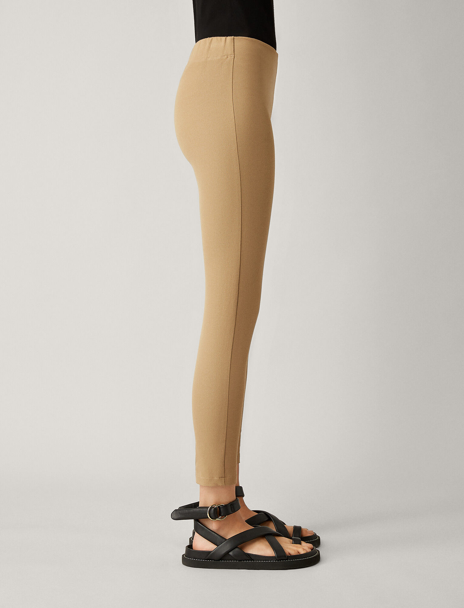 Joseph, Nitro Gabardine Stretch Leggings, in CAMEL
