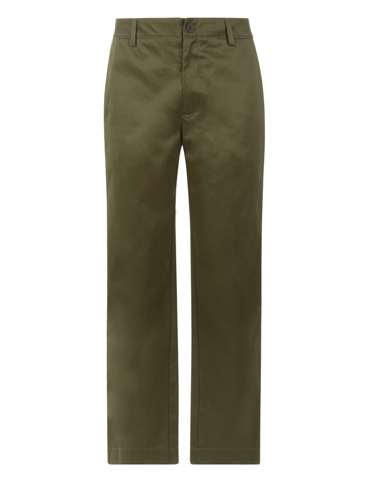Joseph, Bernard Compact Chino Trousers, in MILITARY