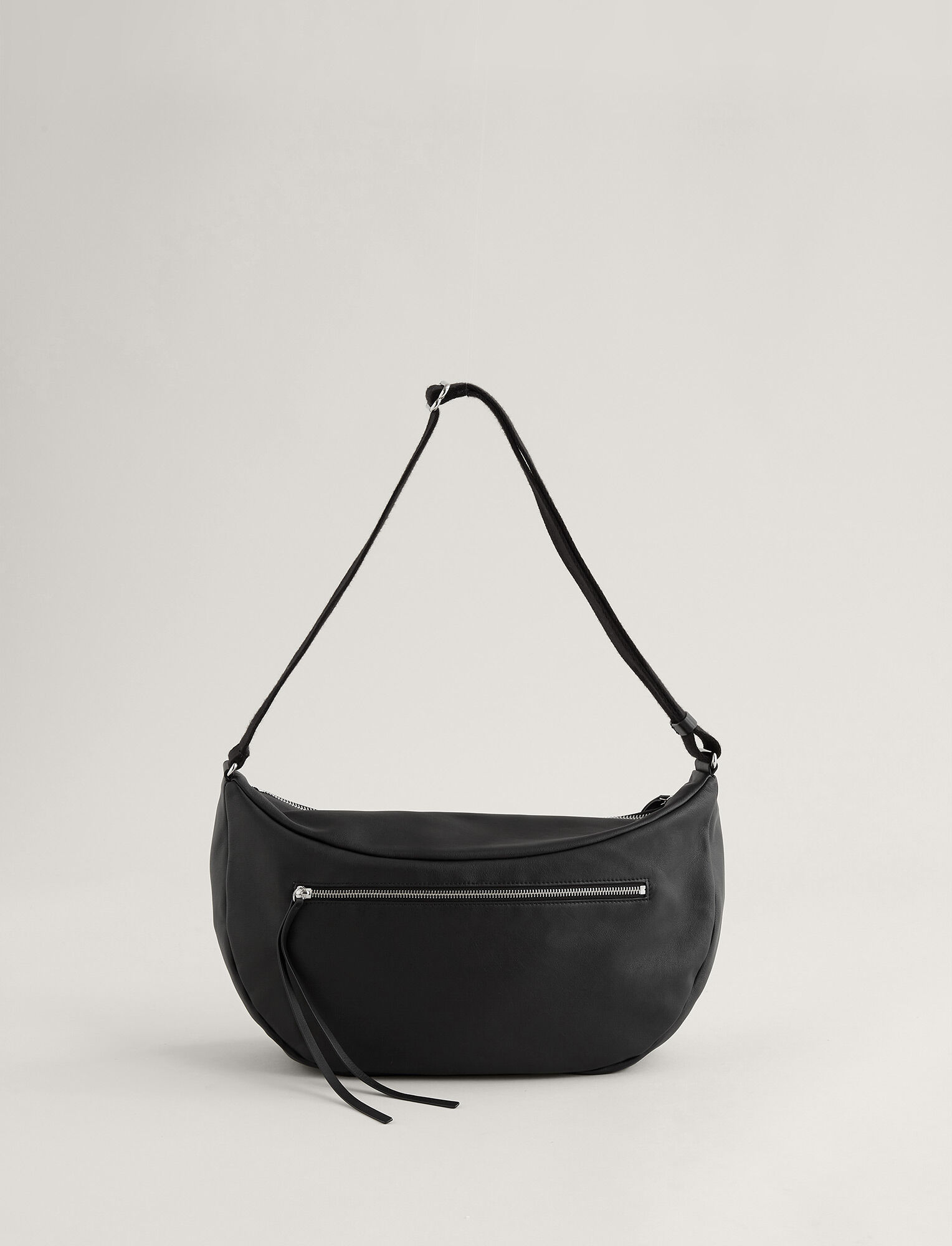Joseph, Marylebone Leather Bag, in BLACK