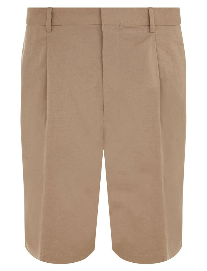 Joseph, Plage Linen Cotton Blend Shorts, in SAND