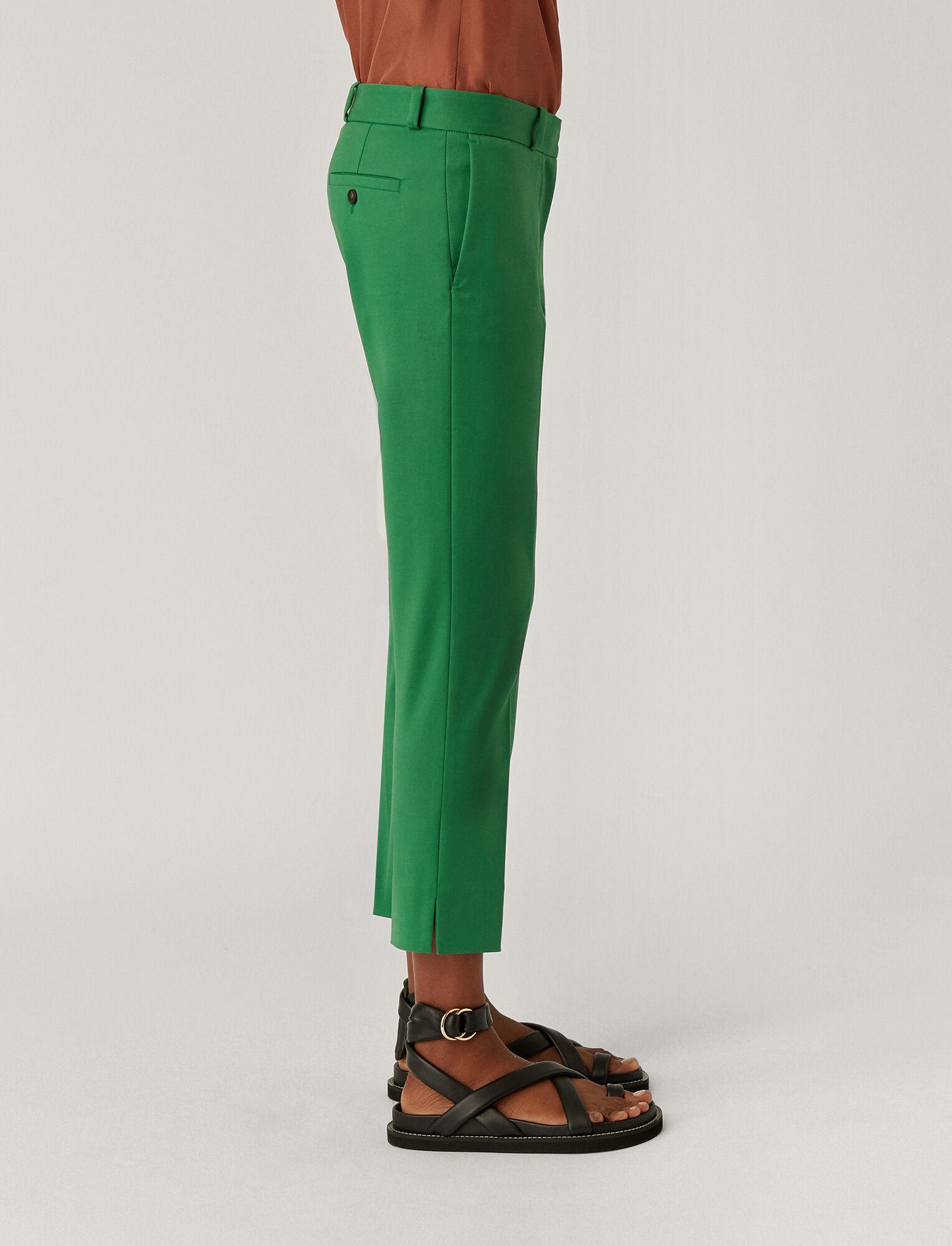 Joseph, Bing Court Double Cotton Stretch Trousers, in AMAZON