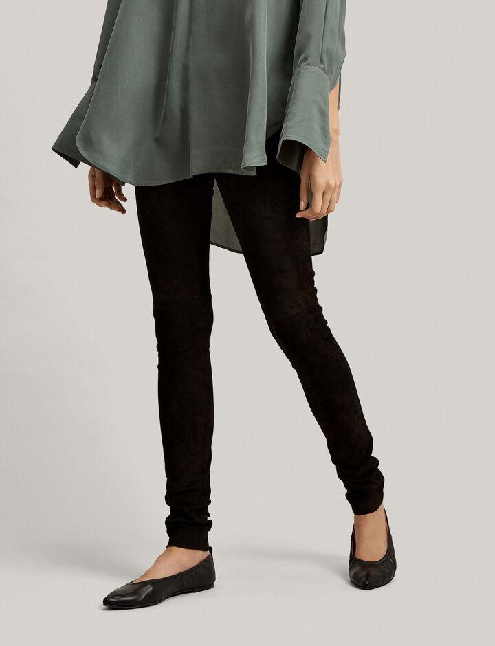 Relatively Designer Leather Leggings | Women's Leather Trousers | JOSEPH XT25