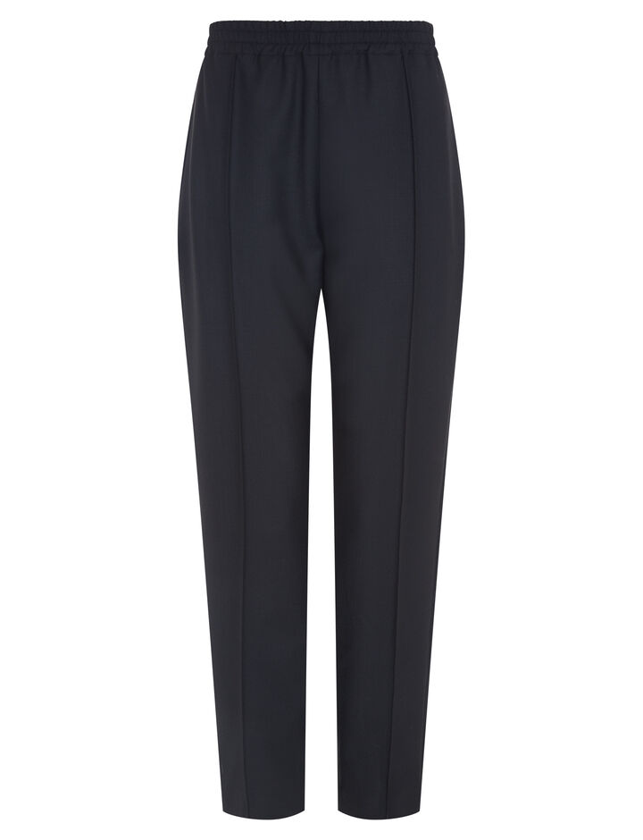 Joseph, Dalton Comfort Wool Trousers, in BLACK