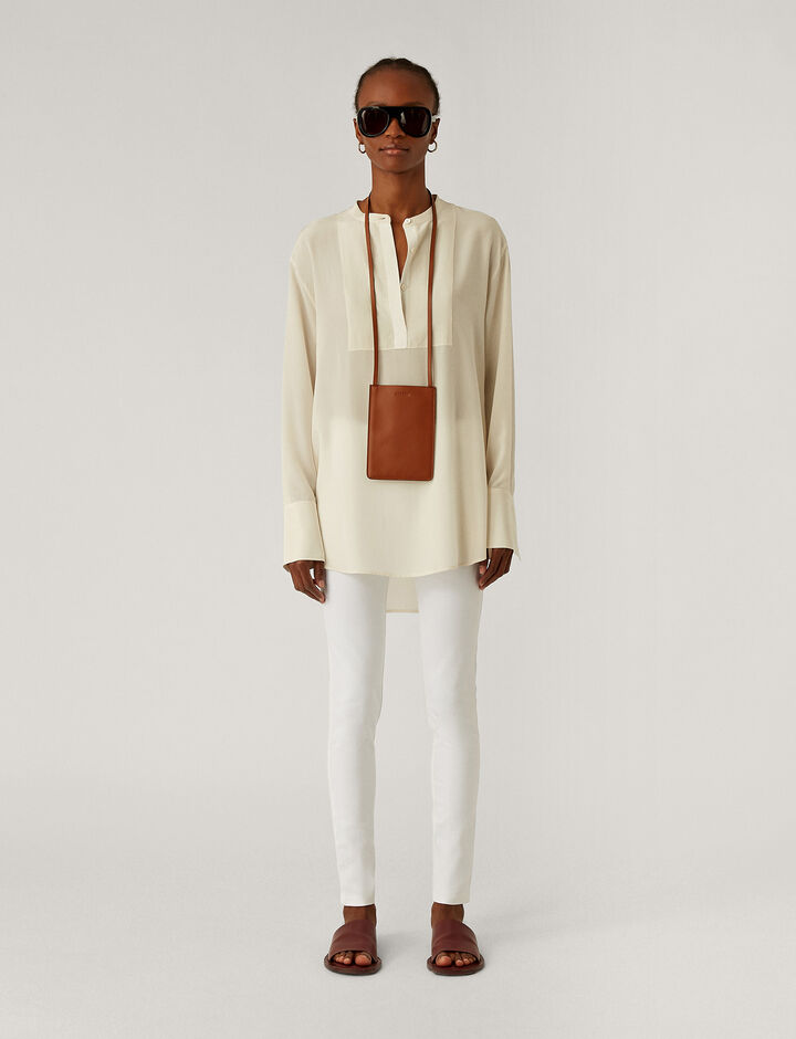 Joseph, Gabardine Stretch Leggings, in WHITE