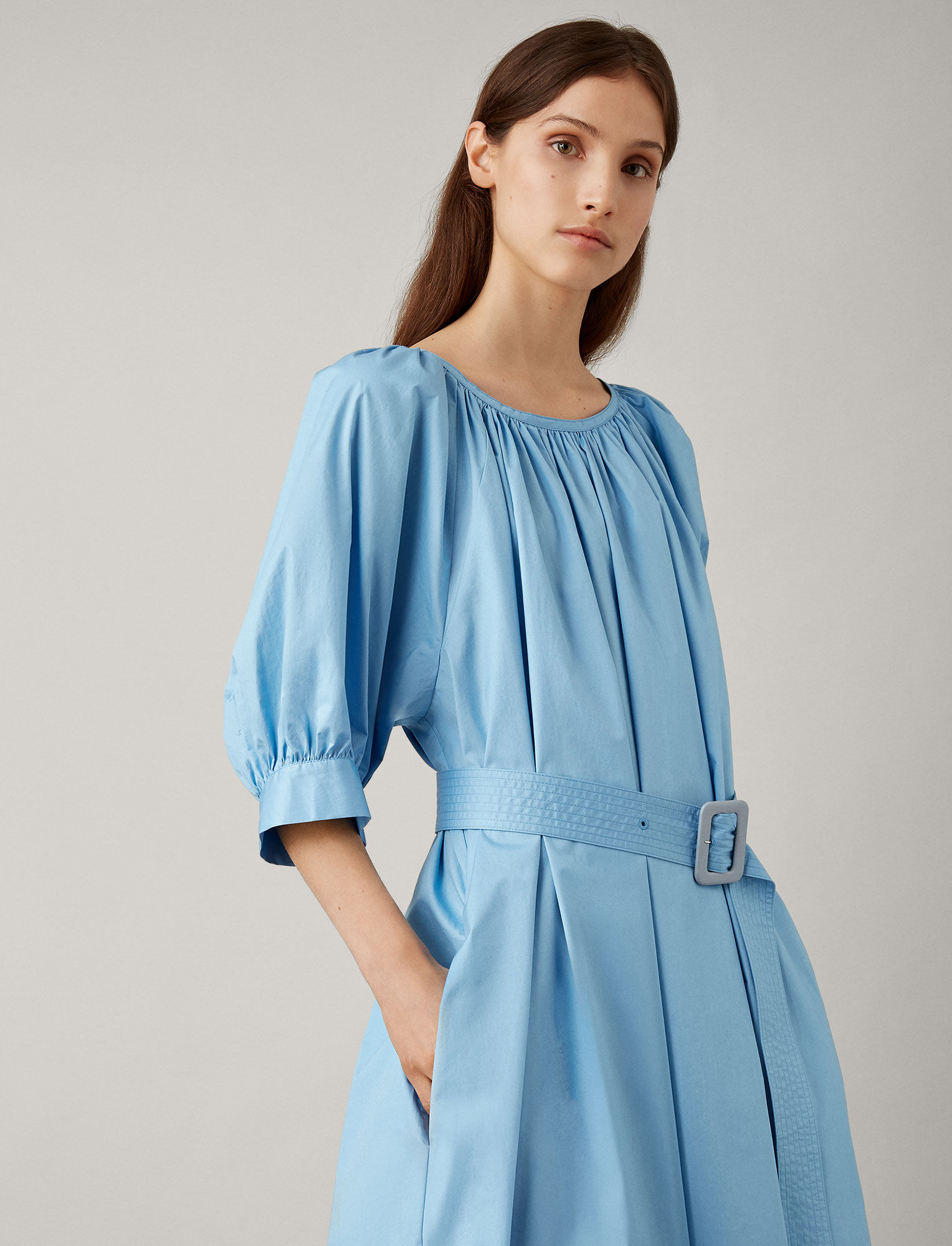 Joseph, Shan Cotton Dress, in CIEL