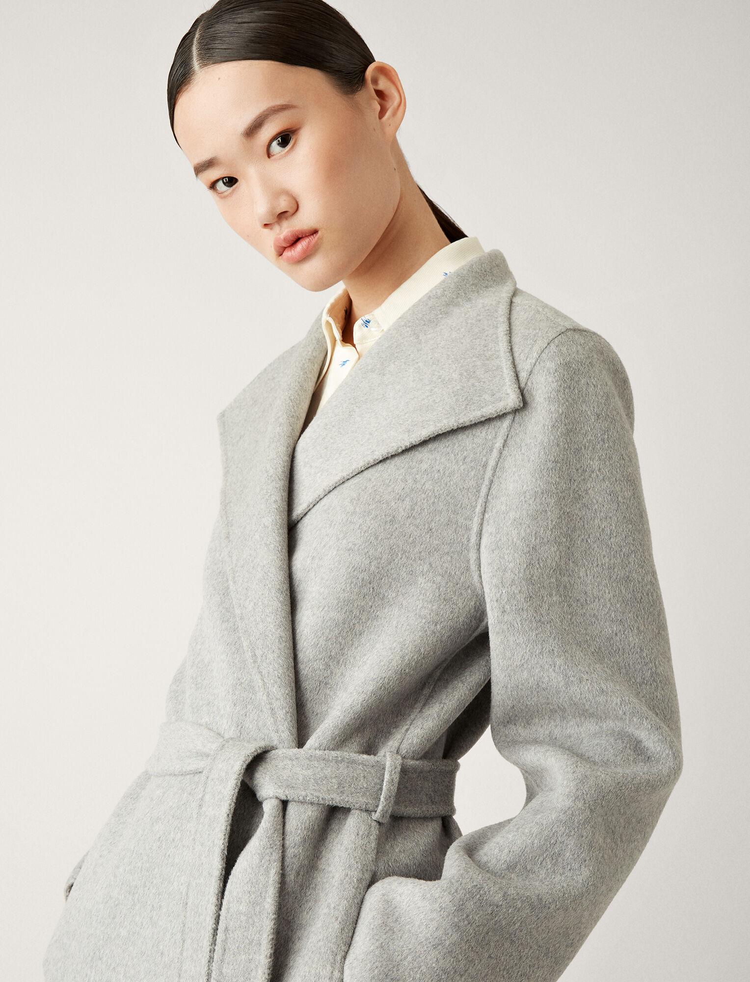 Joseph, Lima Double Face Cashmere Coat, in GREY