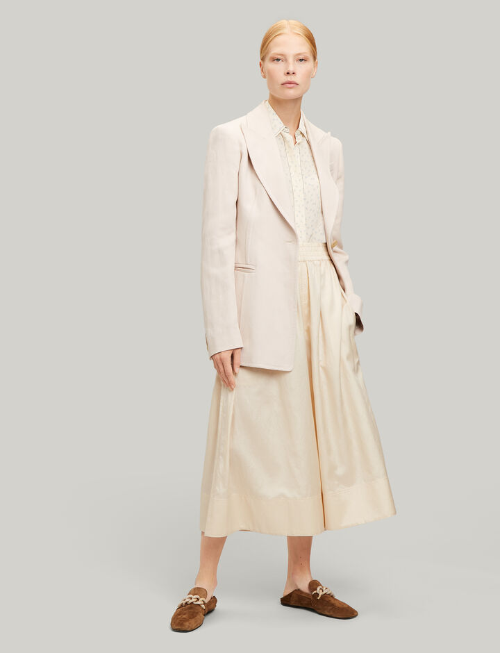 Joseph, Hampson Ramie Cotton Jacket, in PEARL