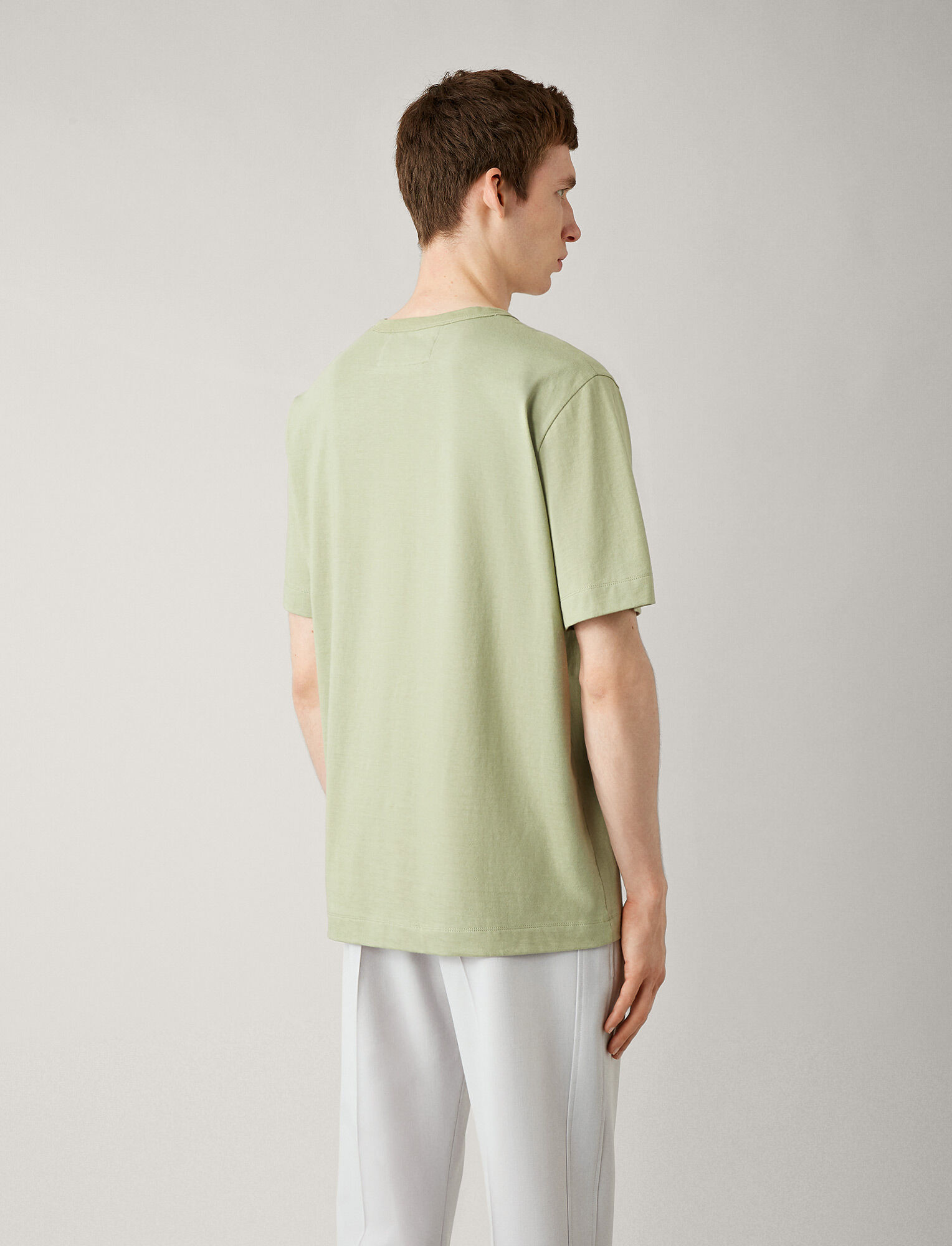 Joseph, Perfect Tee, in KHAKI
