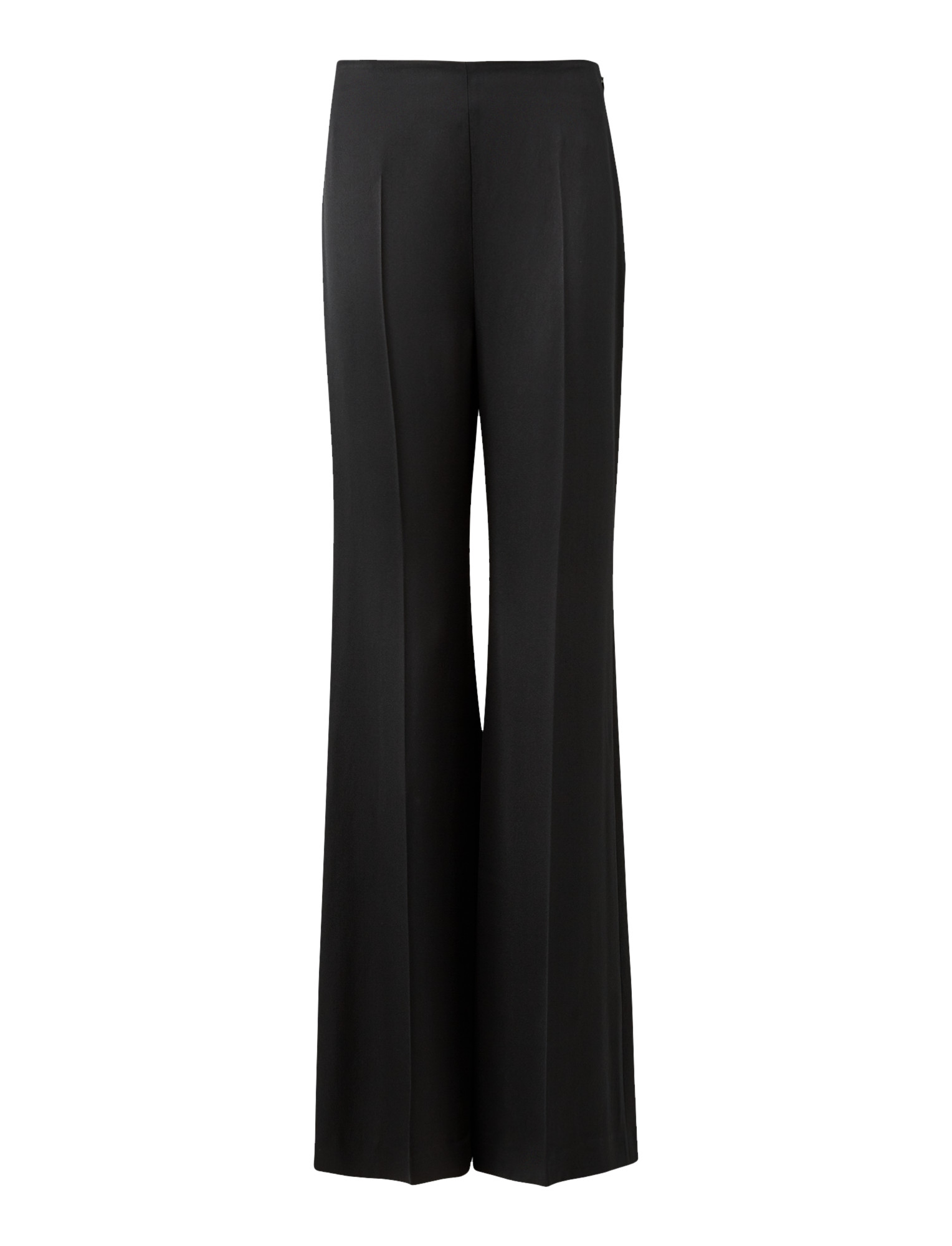 Joseph, Devyn Satin Double Face Trousers, in BLACK